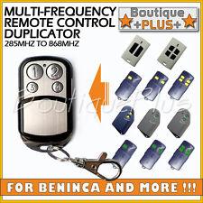 Remote Control Duplicator for BENINCA 306 433.92 mhz , LOT2W , LOT4W , LOT2A