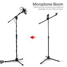 2 Stk Mikrofon Stativ Ständer Mikrofonstativ Mikrofonständer Bühnenstativ GL 01