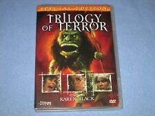 TRILOGY OF TERROR (DVD, 2006, Special Edition) ***Rare, OOP!*** Karen Black 1974