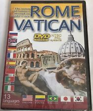 Rome And The Vatican (DVD, NTSC & PAL Compatible) travel doc educational NEW
