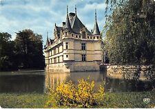 BT10669 Azay le rideau le chateau se mirant dnas un bras de l ind         France
