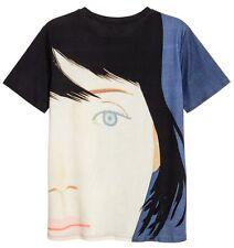 ALEX KATZ x H&M 'Kym' 2011/2016 Men's Art T-Shirt w/ Printed Design SMALL *NWT*