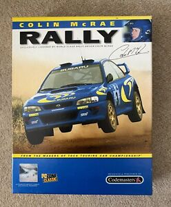 COLIN McRAE RALLY BIG BOX VERSION for PC CD-ROM COMPLETE & IN VGC