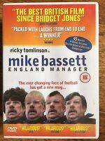 Ricky Tomlinson MIKE BASSETT ENGLAND MANAGER ~ British Football Comedy | UK DVD