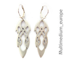 keltische Silber Ohrringe Knoten Kelten keltisch silver celtic earrings knot