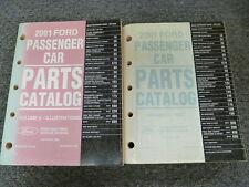2001 Ford Mustang Coupe Convertible Parts Catalog Manual GT Cobra 3.8L 4.6L