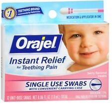 Baby Orajel Fast Teething Pain Relief Teething Swabs Berry 12 Each