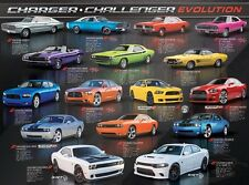 Jigsaw Puzzle Car Dodge Charger Challenger Evolution 1000 pieces NEW Made in USA
