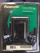 New Sealed Vintage Panasonic Rq-V52 Fm/Am Stereo Radio Personal Cassette Player
