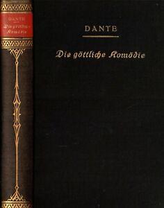 Dante, Die göttliche Komödie in deutschen Terzinen, Übertragen v. Zoozmann, 1921