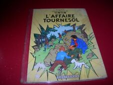 TINTIN   L'AFFAIRE TOURNESOL     HERGE   EO     B19   1956