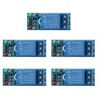#QZO 5pcs 1 Channel DC 5V Relay Switch Module for Arduino Raspberry Pi ARM AVR