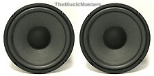 """Pair 5"""" Home Audio WOOFERS Speaker Cabinet Enclosure Stereo System Replacements"""