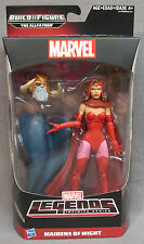 Marvel Legends Infinite Series Scarlet Witch with BAF Piece-The Allfather