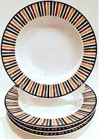 Mikasa Harmony Rim Bowls, Salad Bowls, Laurie Gates Bowls, Mikasa China Bowls