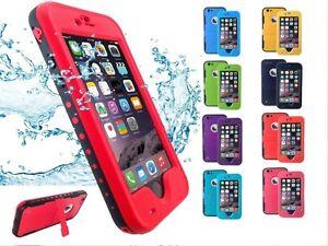CUSTODIA COVER WATERPROOF IMPERMEABILE CON LETTORE DI IMPRONTA PER IPHONE 6 6s