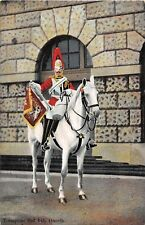 POSTCARD  MILITARY   2nd   LIFE  GUARDS    Trumpter