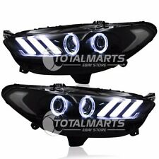 HID Headlights For Ford Mondeo Fusion 2013-2016 Bi-Xenon Light Mustang style R50