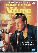 Dvd Pump Up The Volume - Alza il volume con Christian Slater 1990 Usato