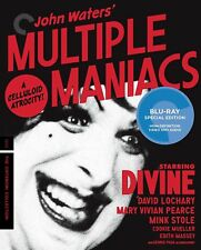 Multiple Maniacs - Criterion Collection Blu-RAY NEW BLU-RAY (CC2740BDUK)