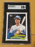 1989 Topps Traded SGC 10 Ken Griffey Jr. RC Newly Graded Rookie PSA BGS