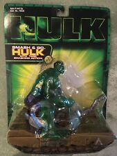 Toy Biz SMASH AND GO HULK WITH TANK SMASHING ACTION Sealed