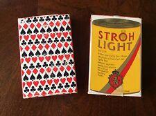 1979 Stroh Light Beer Bridge Playing Cards - Set Of 2 Complete Sets