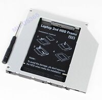 2nd PATA IDE HD SSD Hard Drive Optical Bay Caddy for Macbook Pro Early 2008 2007