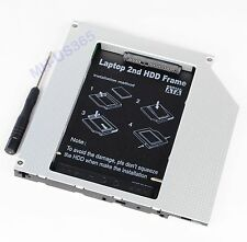 NEW 2nd SATA HDD SSD caddy for Macbook pro SuperDrive PATA/IDE Non-Unibody A1226