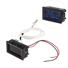 Blue Digital XH-B310 Diaplay -30-800°C Gauge Thermometer K-type M6 Thermocouple