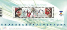 Canada 2010 Winter Olympics Souvenir Sheet Used