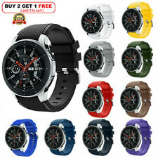 Samsung Galaxy Watch 46mm Silicone Fitness Replacement Wrist Strap band SM-R800