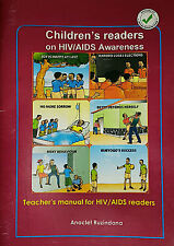 Lot of 6 Children's readers on HIV/AIDS Awareness and a Teachers Manual