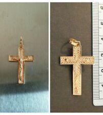 Pendente Crocifisso in oro 750 sign 18kt gold