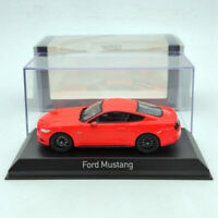 Norev 1:43 Ford Mustang GT 2014/2015 Diecast Fluorescent Orange/Blue/Yellow