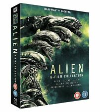 ALIEN - 6 FILM COLLECTION BLU RAY BOXSET 6 DISCS (1979-2017)