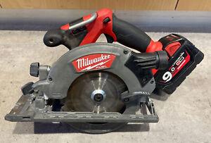 "Milwaukee M18 CCS55 FUEL Brushless 18V Cordless 165mm (6 1/2"") Circular Saw"