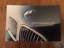 BMW Dealer Postcard 2002