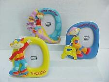 3 HAPPY HOUSE Children's Picture Frames Little Monster Trickster Mischief Maker
