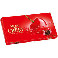 Ferrero Mon Cheri (mon cherry) Chocolates in a BOX - 157g -SHIPPING WORLDWIDE