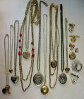 Locket+Jewelry+Lot-15+Pieces-Lot%233171