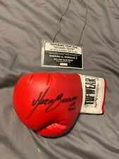 Marco Barrera Vs Morales 2002 Training Session Signed Autographed Worn Glove