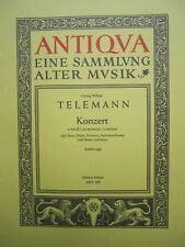 Telemann Concerto in C minor for Oboe and piano *NEW* Schott