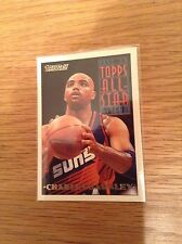 Charles Barkley Vintage USA Topps Gold NBA Basketball trading card