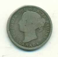 Canada 10 cents 1896 Good