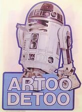 Original 1978 Star Wars Artoo Detoo R2-D2 Hot Peel Iron On Transfer Droid