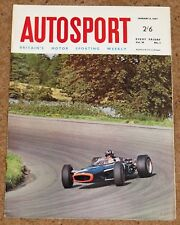 Autosport 6/1/67 - RACING CAR SHOW - DICKIE DALE 3 HOURS - BRANDS BOXING DAY