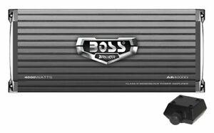 Boss AR4000D Armor 4000W Monoblock Class D Car Audio Amplifier Amp and Remote