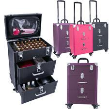 Makeup Trolley Case Nail Technician Beauty Organizer Drawer Cosmetic Storage Box