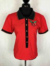 JC de CASTELBAJAC PARIS Polo Shirt For Women Cotton Woman T-Shirt Pole Sz. S 42